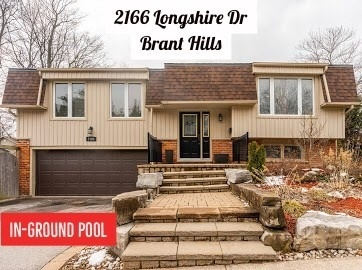2166 Longshire Dr, Burlington, L7P3N5, 4 Bedrooms Bedrooms, ,3 BathroomsBathrooms,Detached,For Sale,Longshire,W4731080