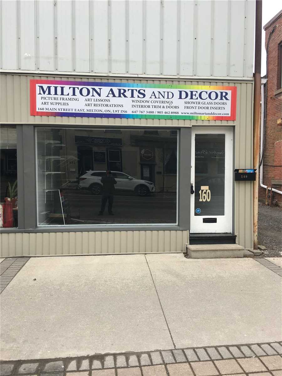 160 Main St, Milton, L9T1N6, ,1 BathroomBathrooms,Commercial/Retail,For Lease,Main,W4725306