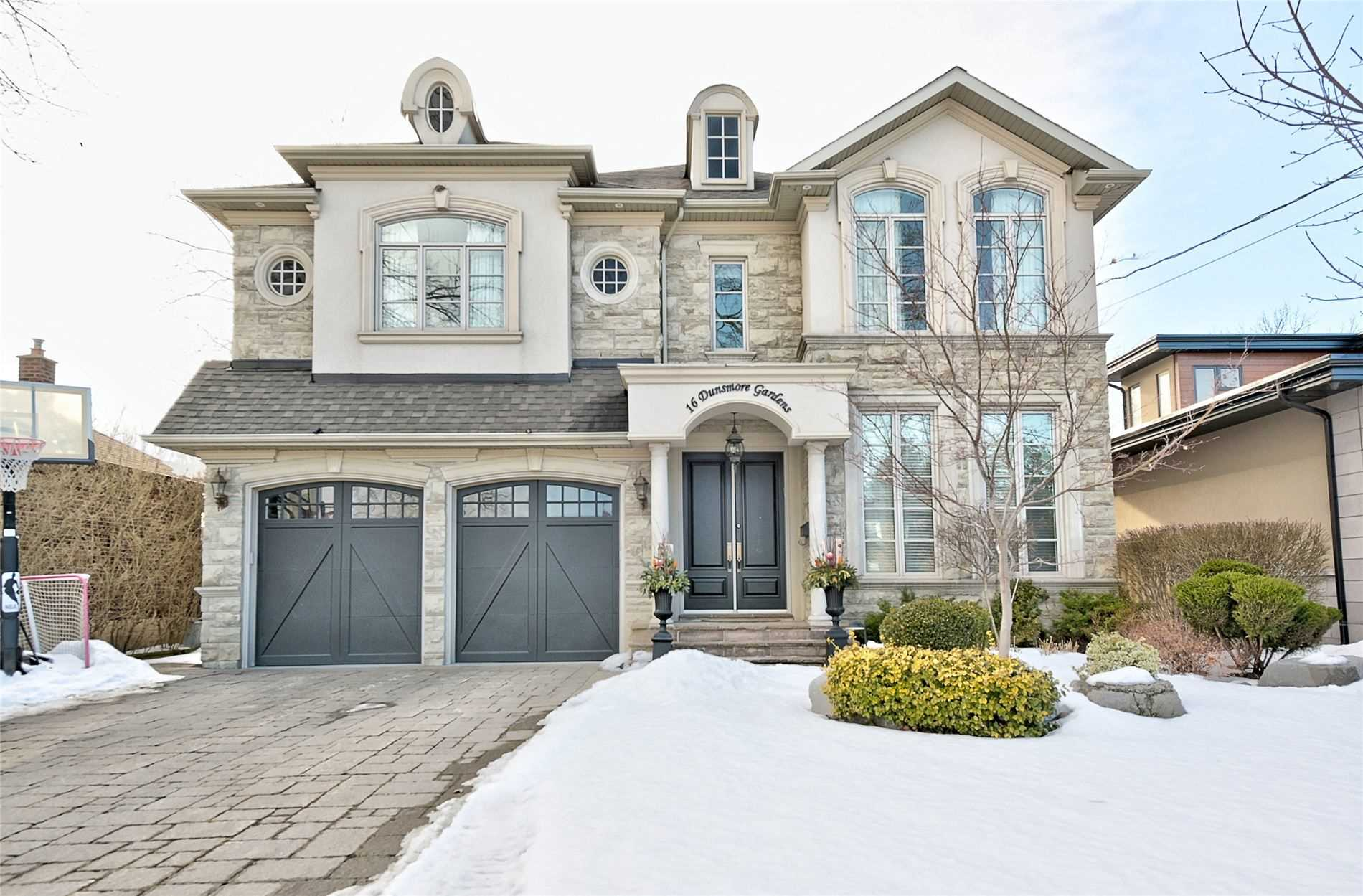 16 Dunsmore Gdns, Toronto, Ontario M3H3M2, 4 Bedrooms Bedrooms, 10 Rooms Rooms,6 BathroomsBathrooms,Detached,For Sale,Dunsmore,C5141450