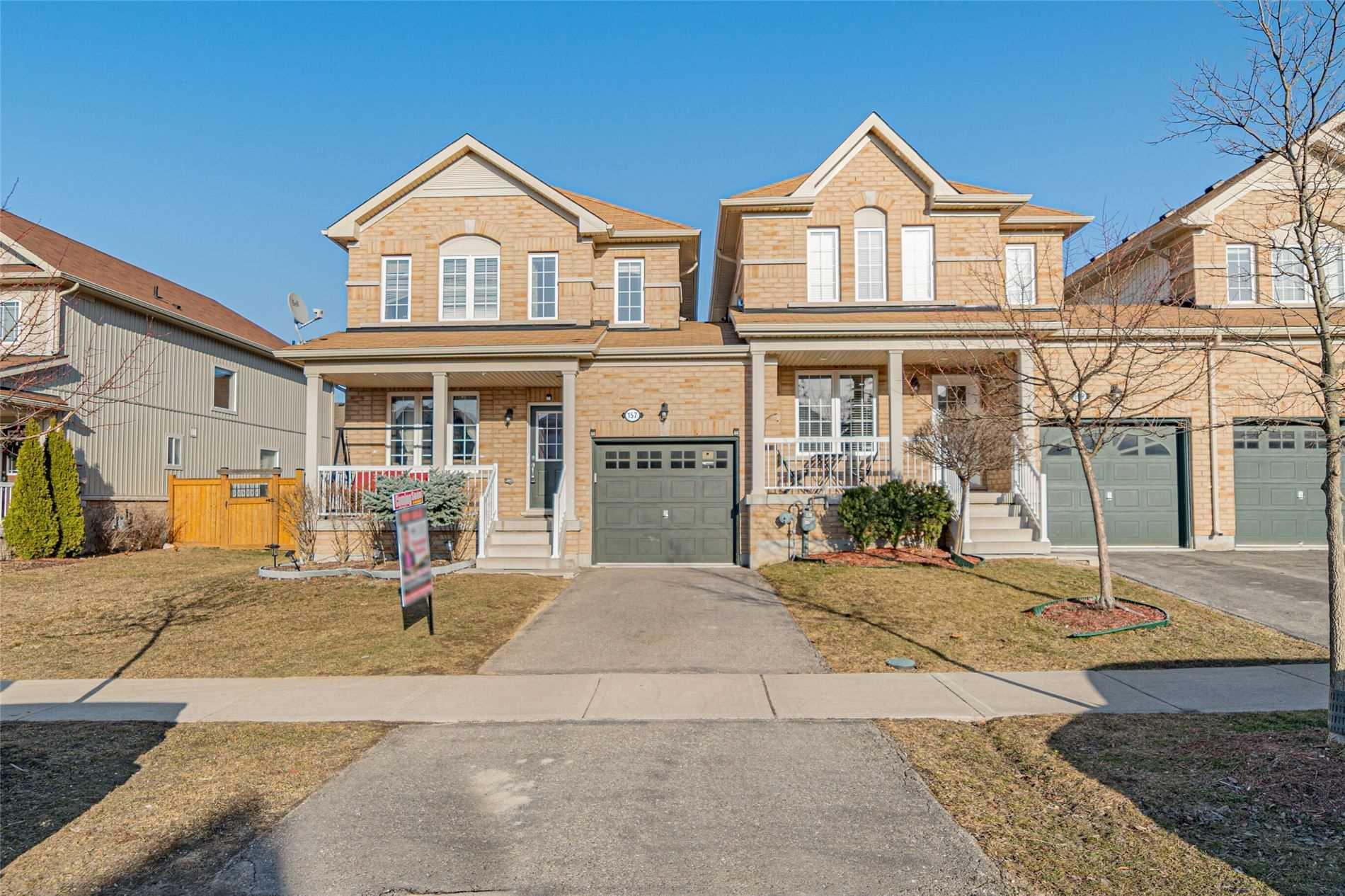 157 Thomas Ave, Brantford, Ontario N3S 0C8, 3 Bedrooms Bedrooms, ,3 BathroomsBathrooms,Att/row/twnhouse,For Sale,Thomas,X5160617