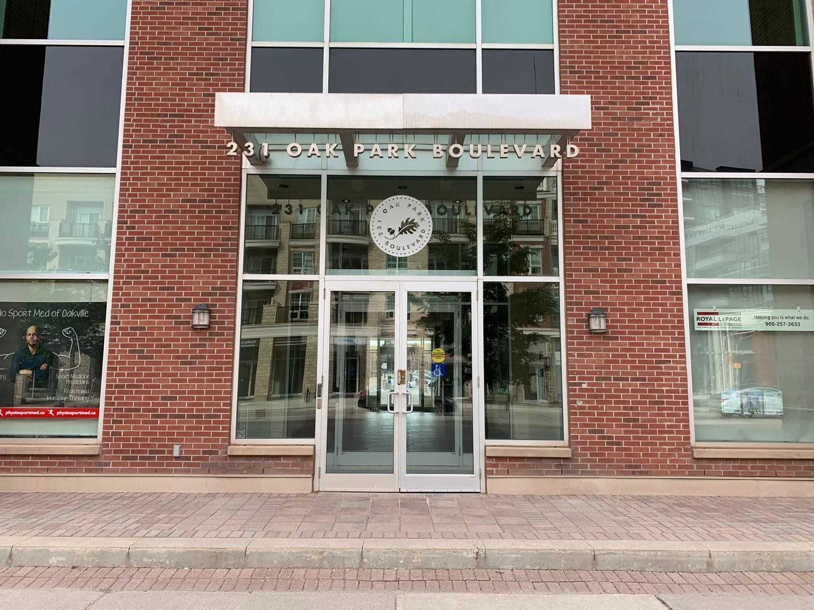 231 Oak Park Blvd, Oakville, L6H 7S8, ,Office,For Lease,Oak Park,W4499659