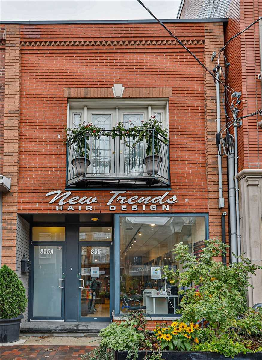 855 College St, Toronto, Ontario M6H 1A1, 2 Bedrooms Bedrooms, 7 Rooms Rooms,3 BathroomsBathrooms,Store W/apt/offc,For Sale,College,C4962025