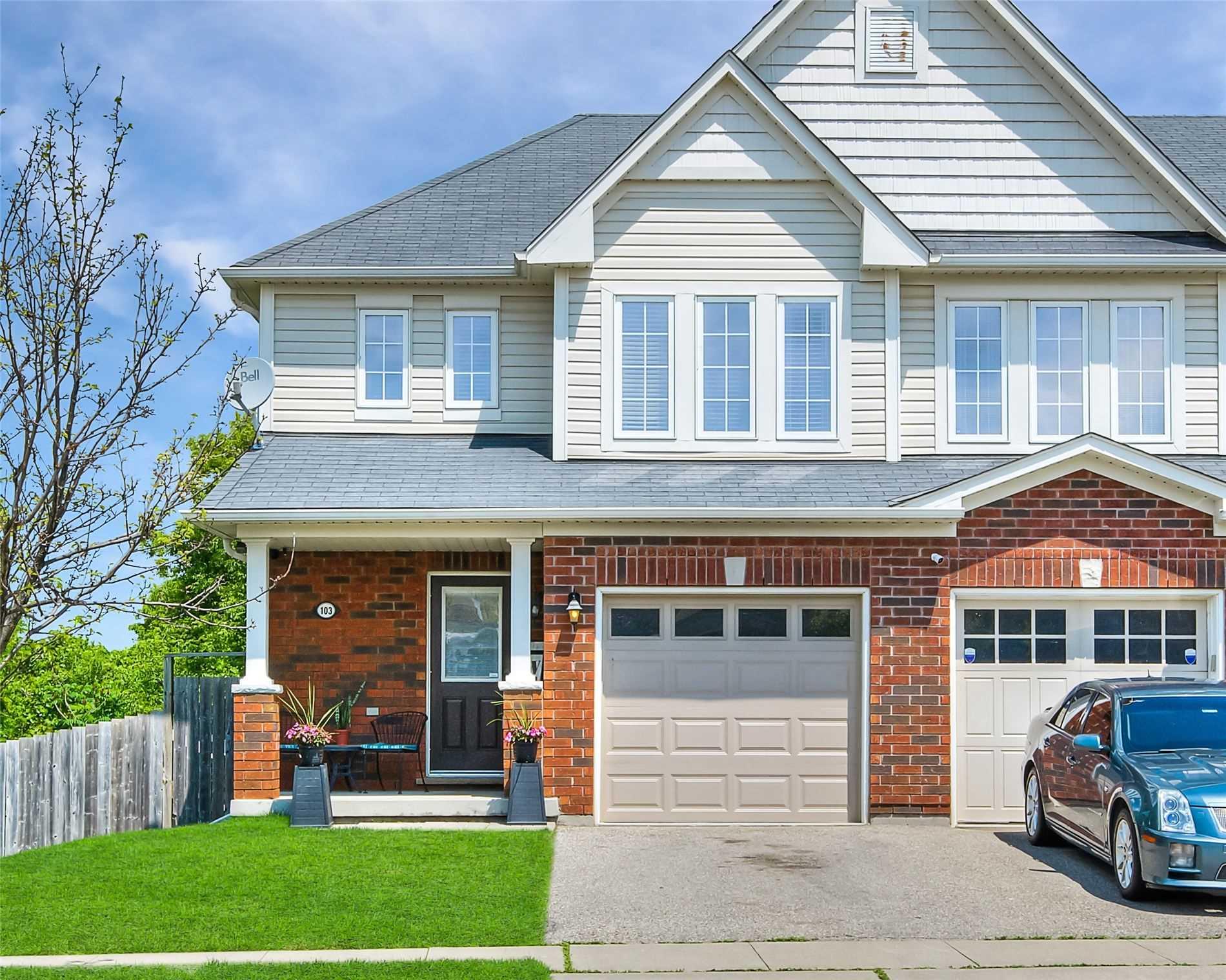 103 Bloomington Dr, Cambridge, Ontario N1P 1J6, 3 Bedrooms Bedrooms, ,2 BathroomsBathrooms,Att/row/twnhouse,For Sale,Bloomington,X5273598