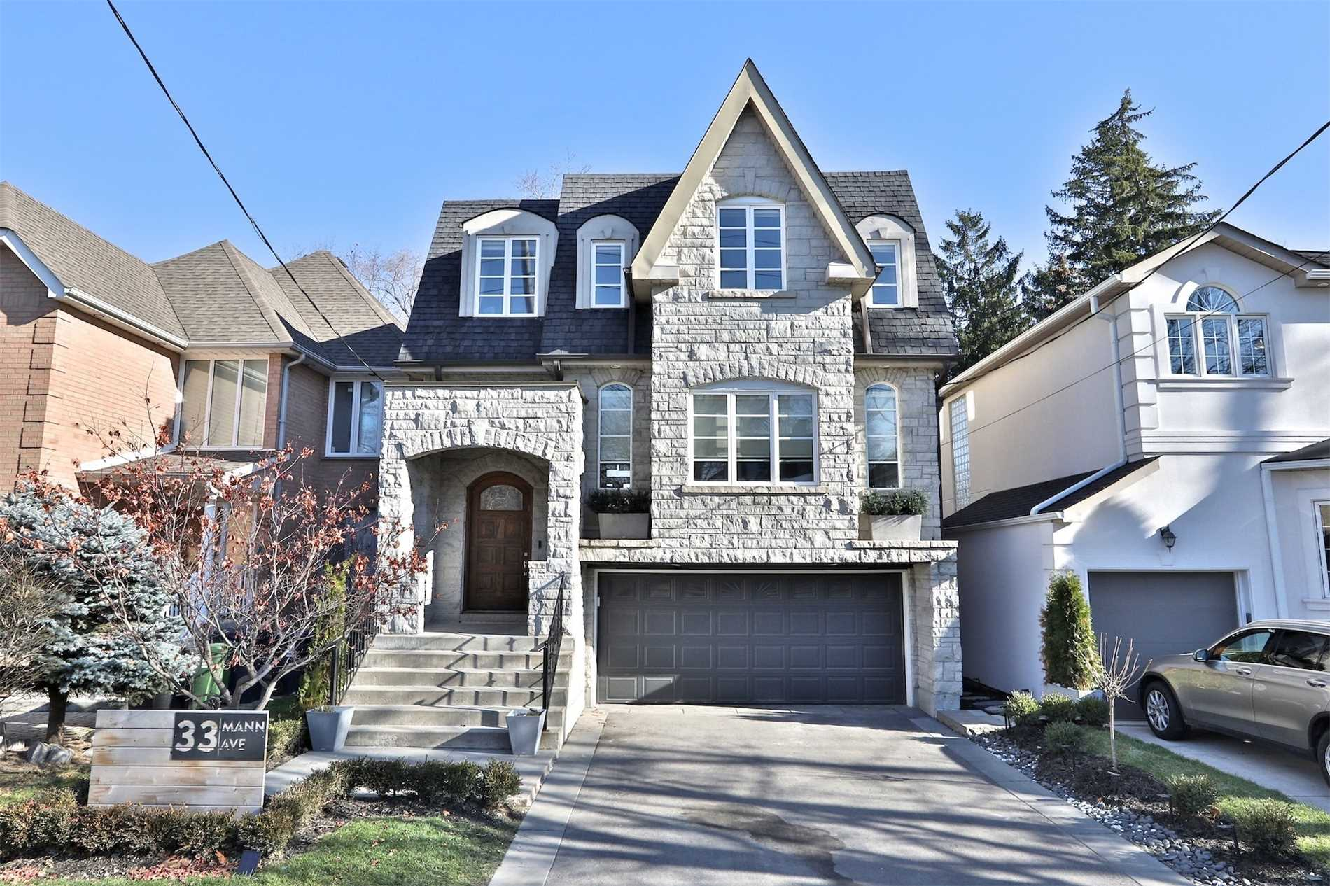 33 Mann Ave, Toronto, Ontario M4S2Y2, 4 Bedrooms Bedrooms, 9 Rooms Rooms,4 BathroomsBathrooms,Detached,For Sale,Mann,C5055040