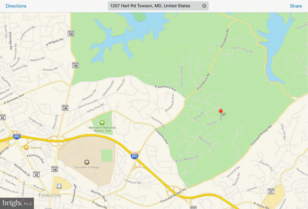 1207 HART ROAD, TOWSON, MD 21286, ,Land,For Sale,HART,1000113943