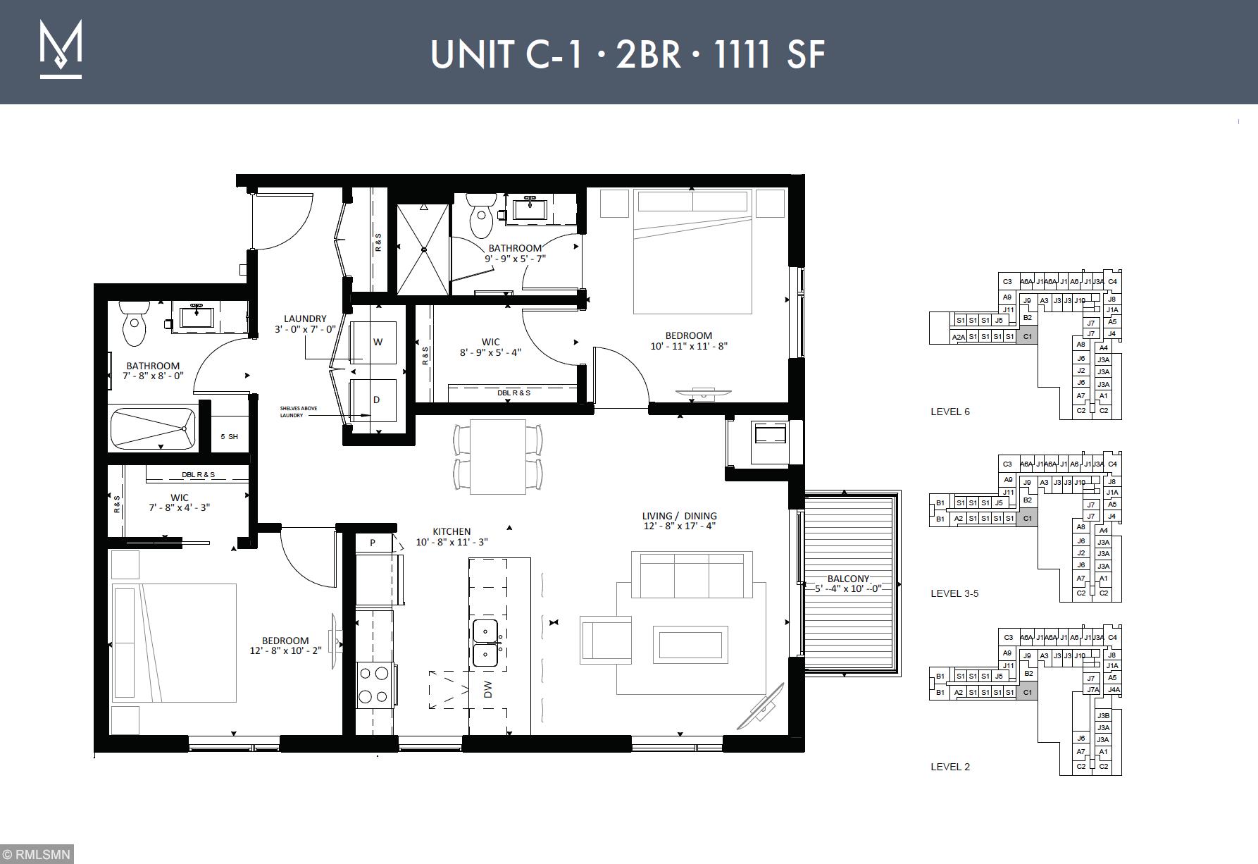 1410 Nicollet Avenue, Minneapolis, Minnesota 55403, 2 Bedrooms Bedrooms, ,2 BathroomsBathrooms,Residential Lease,For Sale,Nicollet,NST5674130
