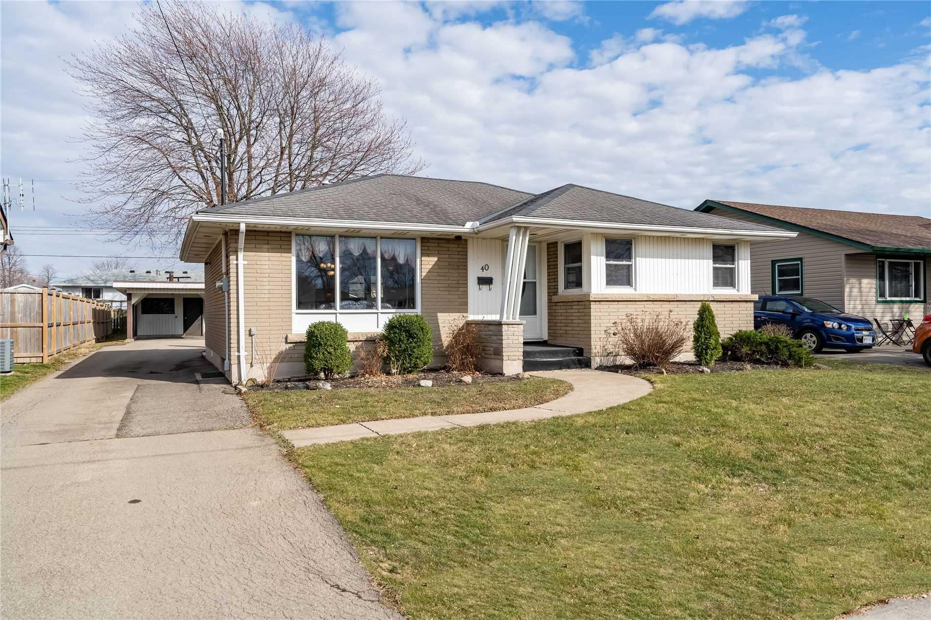 40 Golden Blvd, Welland, Ontario L3B 1H4, 2 Bedrooms Bedrooms, ,2 BathroomsBathrooms,Detached,For Sale,Golden,X5176763