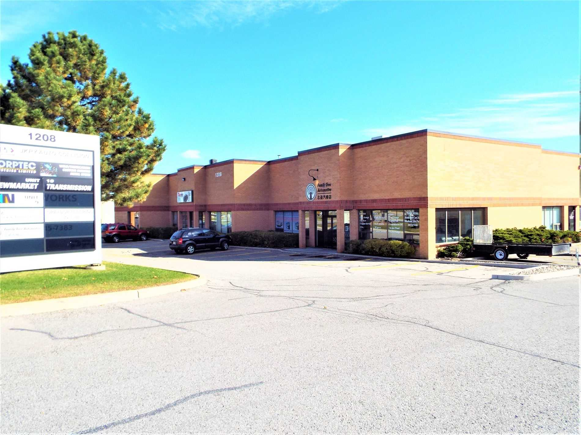 1208 Gorham St, Newmarket, Ontario L3Y 8Y9, ,1 BathroomBathrooms,Industrial,For Sale,Gorham,N4845600
