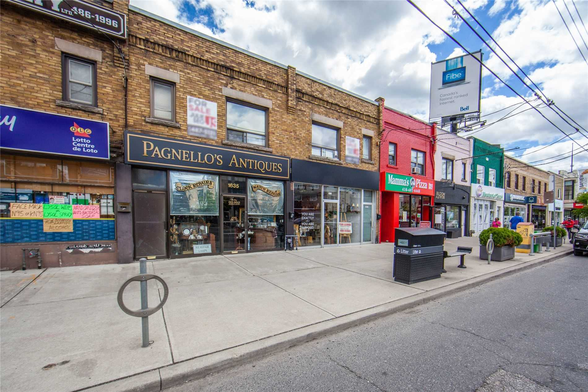 1633-35 Bayview Ave, Toronto, Ontario M4G3B5, ,For Sale,Bayview,C4794508