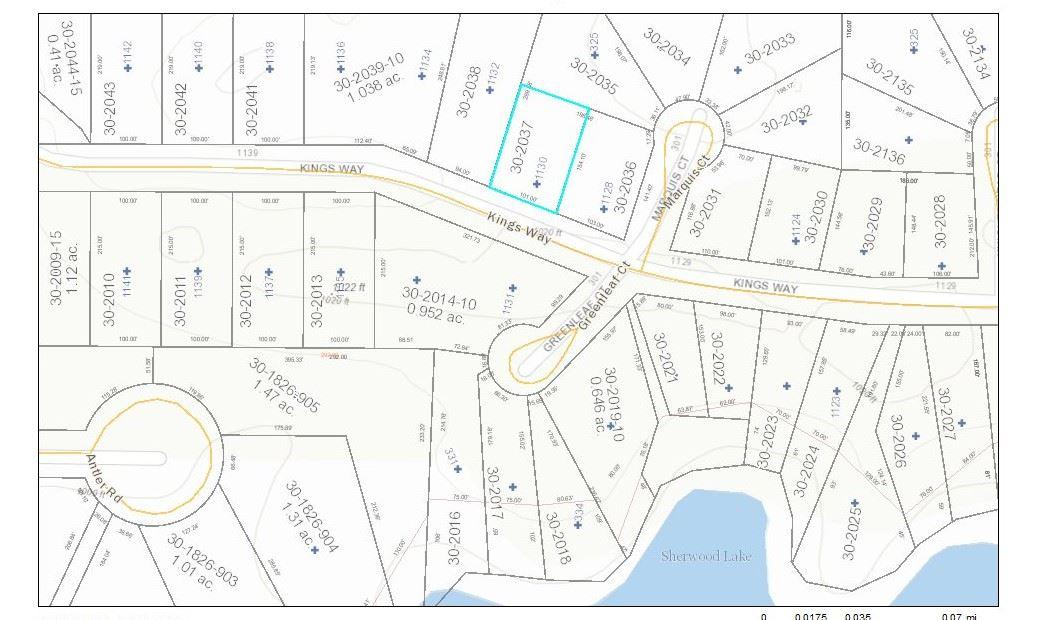 1130 Kings Way, Rome, Wisconsin 54457, ,Lots & Acreage,For Sale,Kings Way,1871480