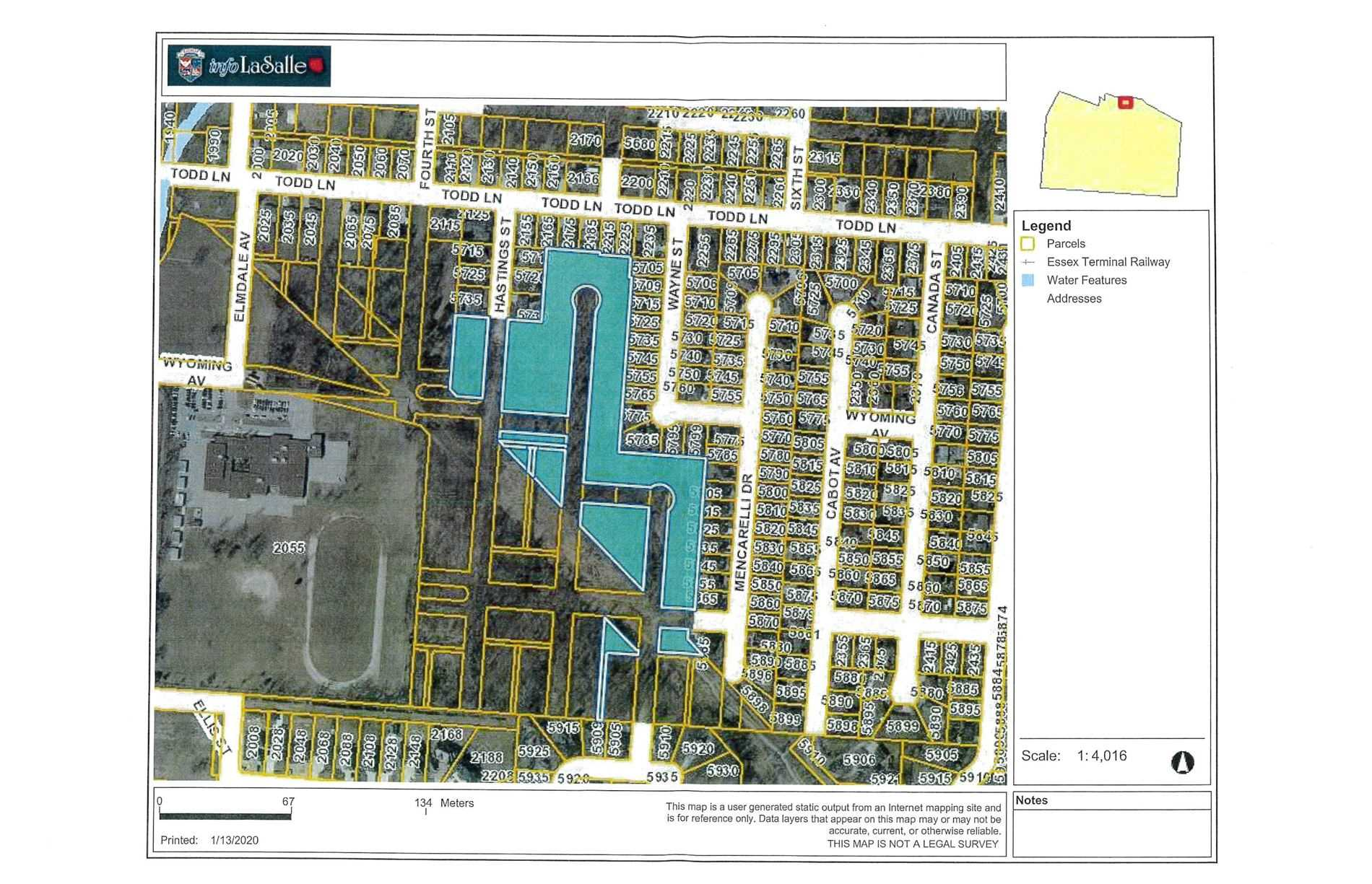 0 Vacant Land Hasting St, LaSalle, Ontario N9H 2M5, ,Vacant Land,For Sale,Vacant Land Hasting,X4689879