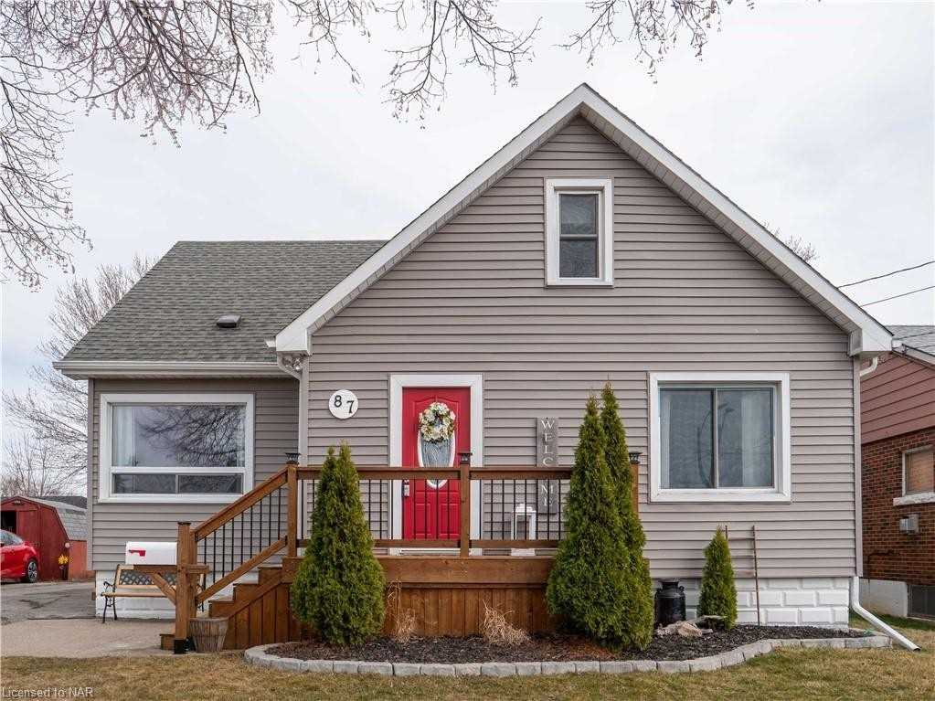 87 Marshall Ave, Welland, Ontario L3C2N1, 3 Bedrooms Bedrooms, ,3 BathroomsBathrooms,Detached,For Sale,Marshall,X5169445