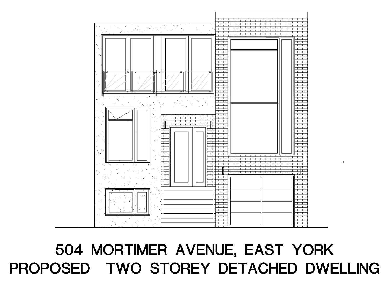 504 Mortimer Ave, Toronto, Ontario M4J2G7, ,Detached,For Sale,Mortimer,E4969836